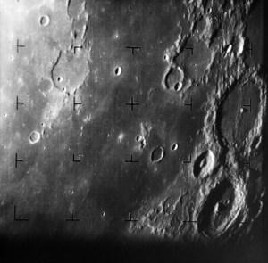 Ranger 7 foto van de Maan