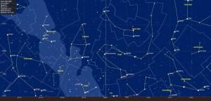 De noordelijke sterrenhemel in februari 2017