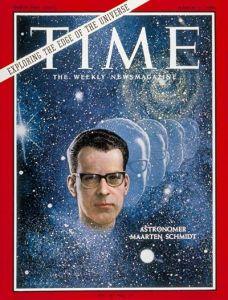 Maarten Schmidt Time Magazine