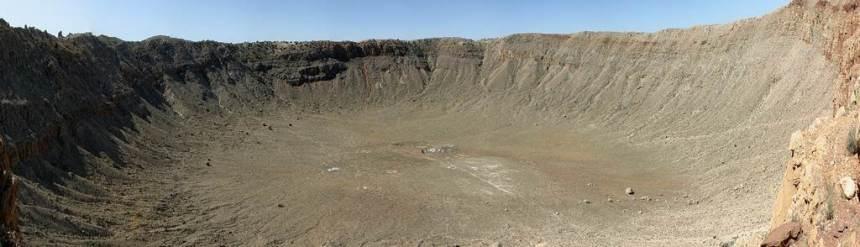 Barringer krater, Arizona