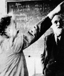 De Sitter en Einstein