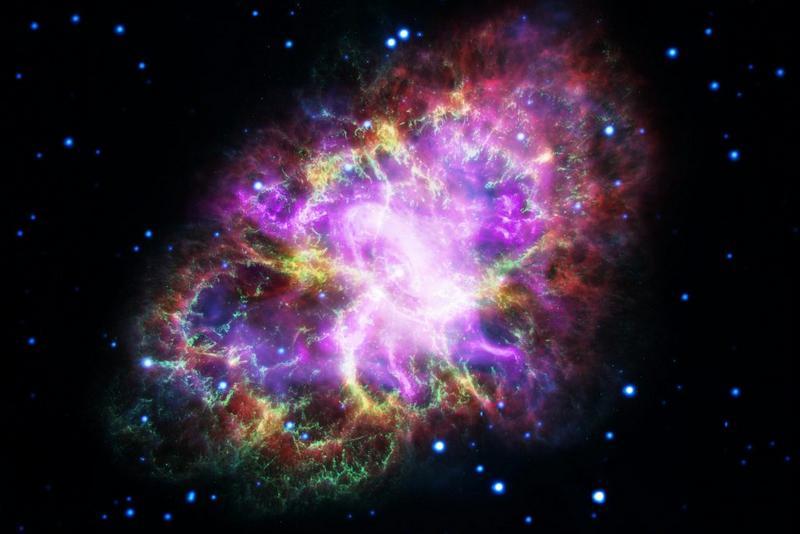 De Krabnevel in het sterrenbeeld Taurus - Stier