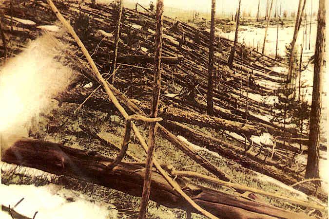 30 juni 1908 - De Toengoeska explosie