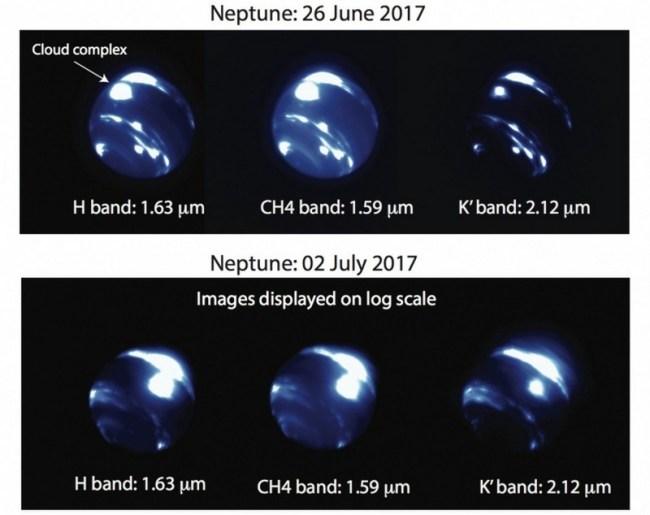 Storm op Neptunus