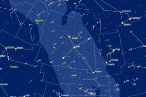 Albireo in het sterrenbeld Zwaan - Cygnus