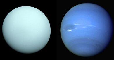 de ijsreuzen Uranus en Neptunus