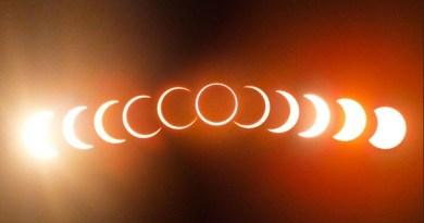 ringvormige zonsverduistering