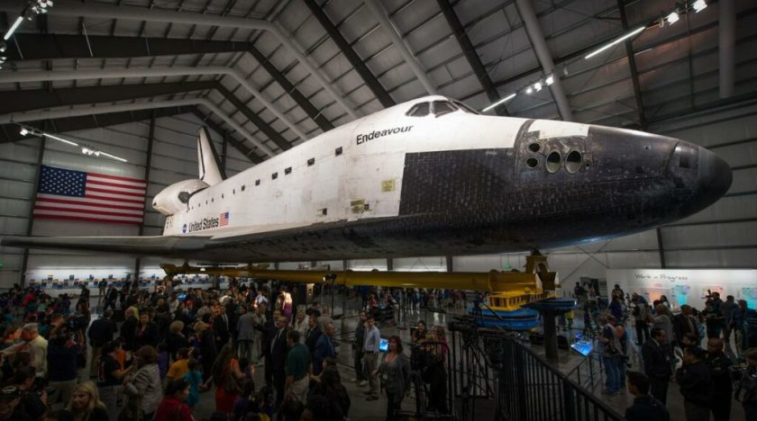 De space shuttle Endeavour