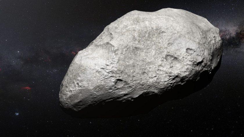 De verbannen asteroïde 2004 EW95