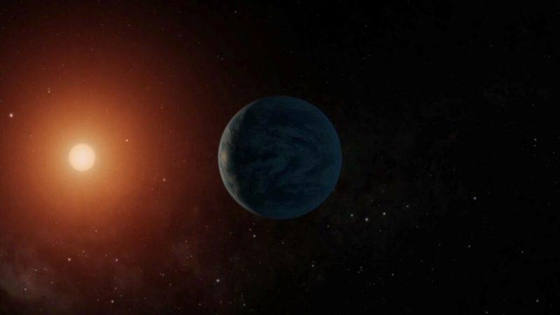 aardachtige exoplaneet