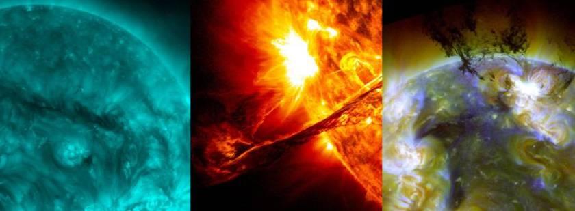 alle afbeeldingen SDO/NASA