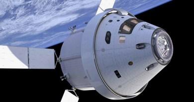 Het Orion ruimtevaartuig van de NASA