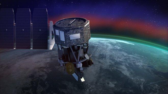 De Ionospheric Connection Explorer (ICON) onderzoekt de ionosfeer