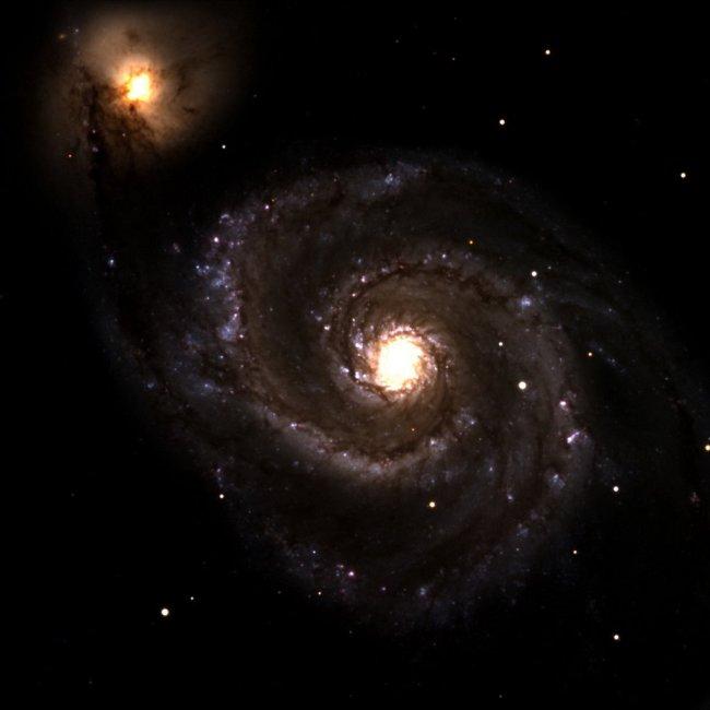 M51 in het sterrenbeeld Canes Venatici - Jachthonden