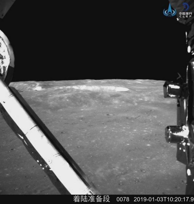Chang'e 4 op de verre zijde van de Maan
