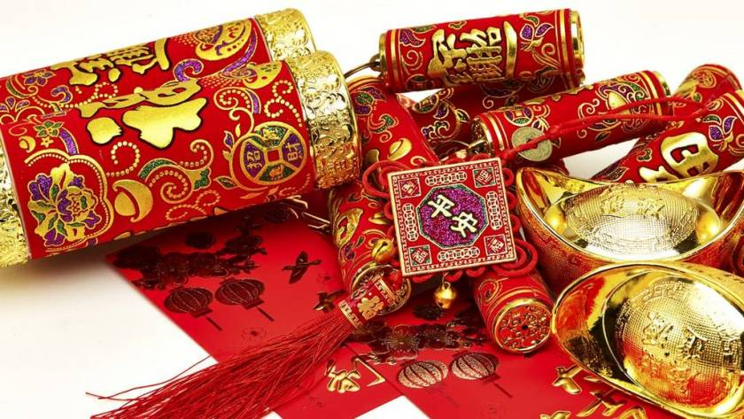 versieringen Chinees Nieuwjaar