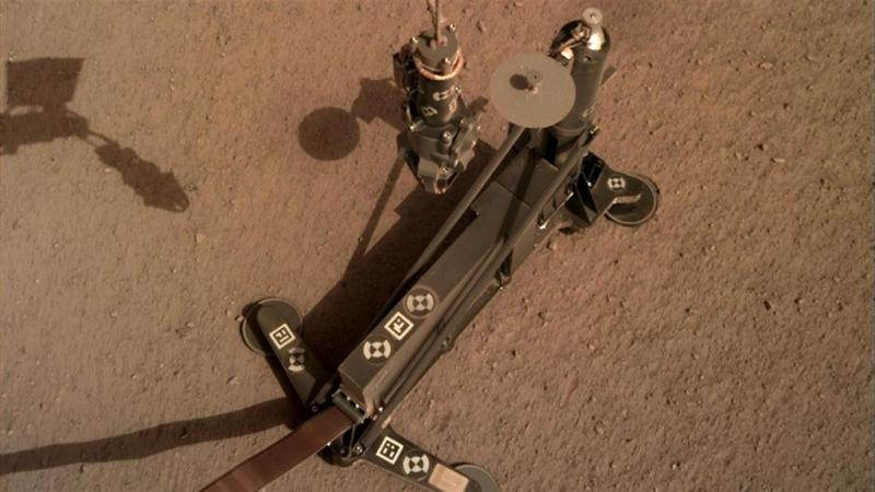 Mars InSight Heat Flow Probe