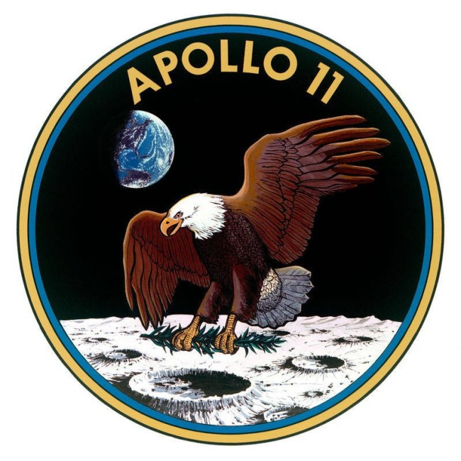Missie patch Apollo 11