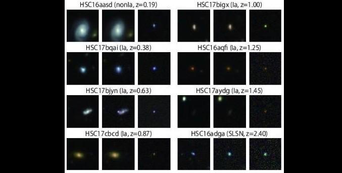 Subaru ontdekt 1800 supernova's