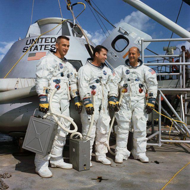 De bemanning van Apollo 10