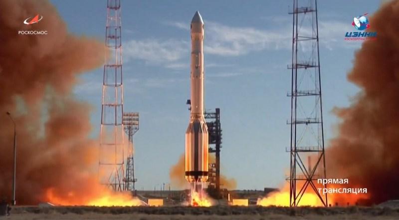 Lancering van de Spektr-RG ruimtetelescoop