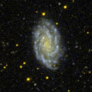 NGC 7083 in Indus