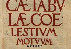 Titelpagina van de Pruisische tabellen van Reinhold