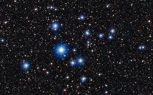 NGC 2547 in Vela