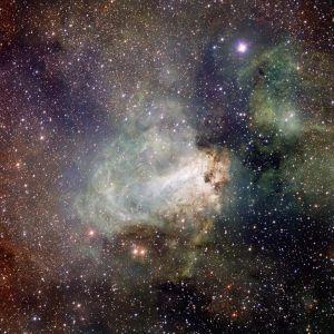 Messier 17 in Sagittarius