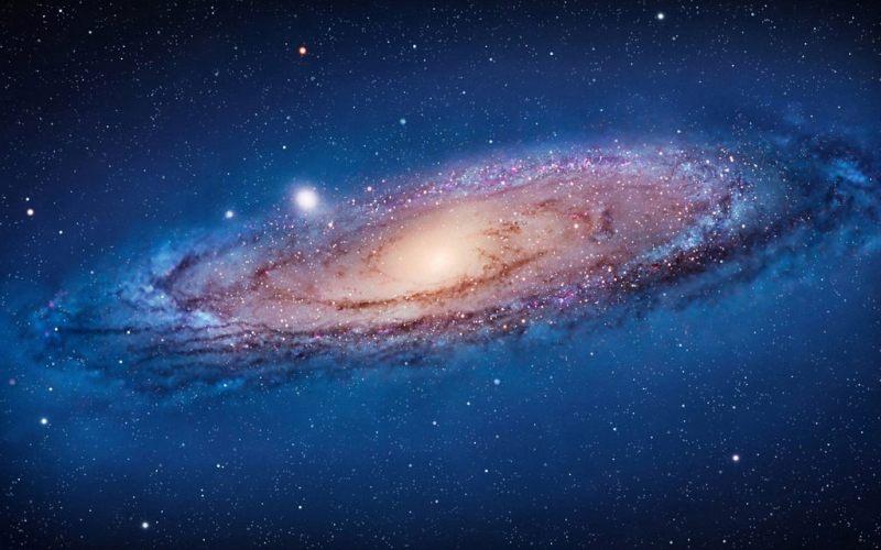 het Andromeda sterrenstelsel