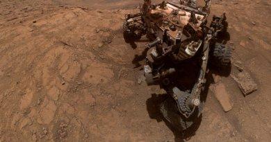 Curiosity maakt selfie op Mars