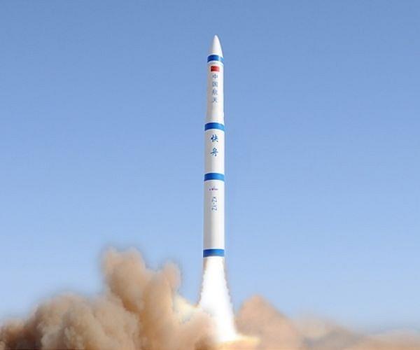 lancering Kuaizhou raket