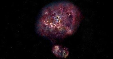 Artist impressie van MAMBO-9 in zichtbaar licht