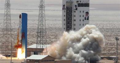 Lancering Iraanse Simorgh raket