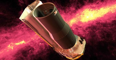 De Spitzer Space Telescope