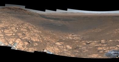 Curiosity maakt enorme panoramafoto van Mars