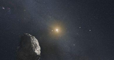 Artist impressie van een Trans-Neptuniaans Object