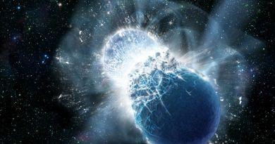 Botsende neutronensterren produceren goud