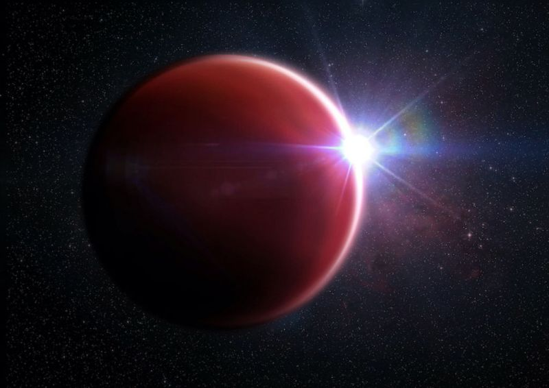 De exoplaneet WASP-62b
