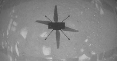 Ingenuity vliegt op Mars