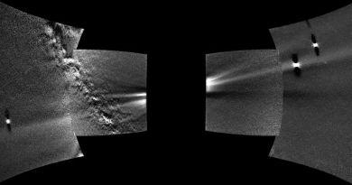 De stofring in de baan van Venus