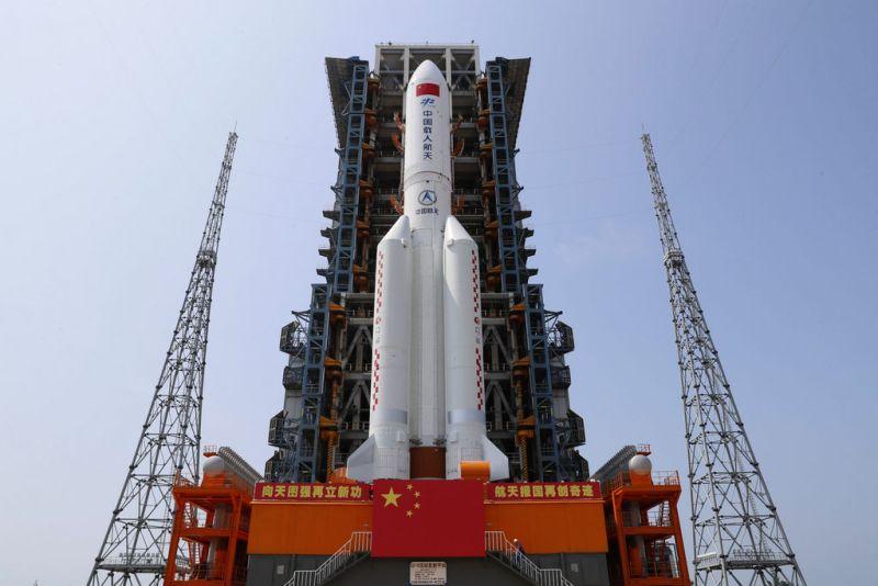 Tianhe staat klaar voor lancering