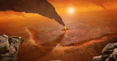 Artist impressie VERITAS onderzoekt Venus