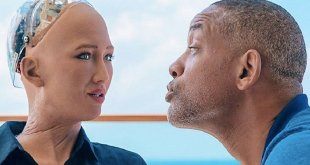VIDEO: Will Smith had awkward date with Sophia the Robot