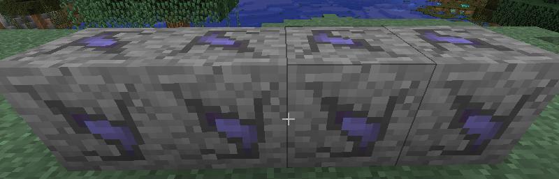 闇の石の鉱石