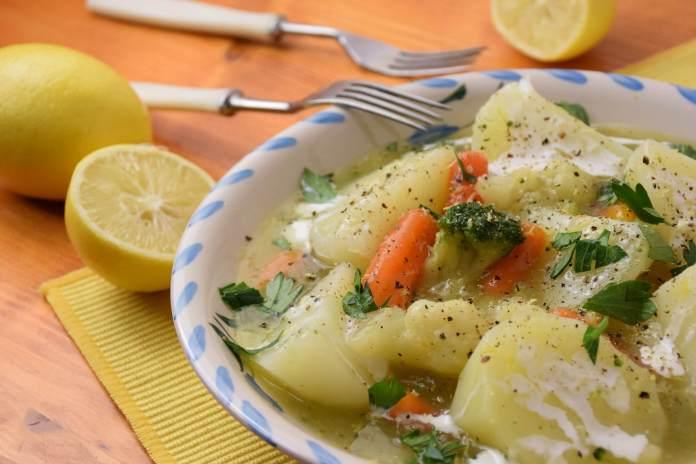 Bareni krompir u umaku od baby mix povrća i limuna