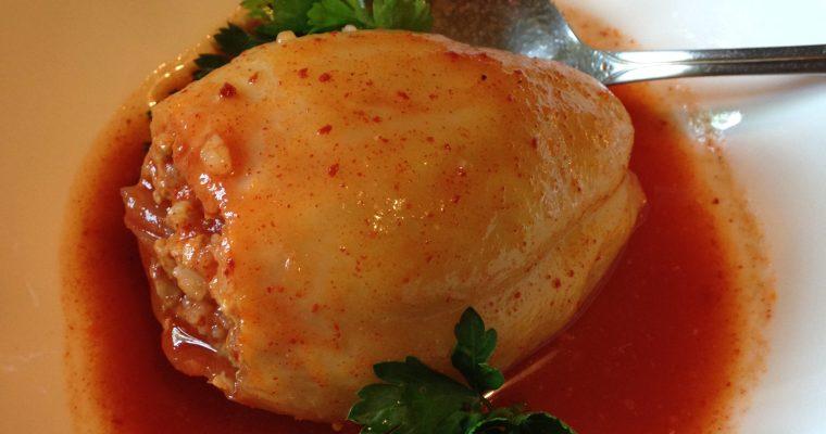 Tradicionalna i ukusna punjena paprika