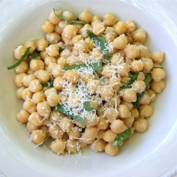 Summer Salad Series: Chickpea Salad with Lemon
