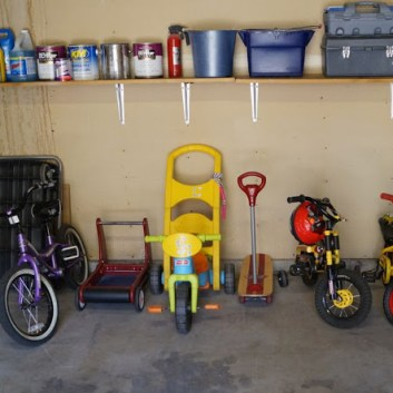 Garage Organization with Before & Afters