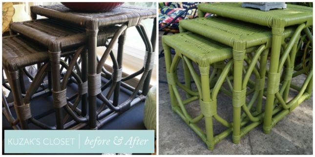 Kuzak's Closet Nesting Table Transformation